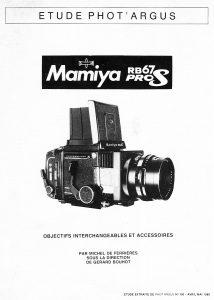 MAMIYA RB 67