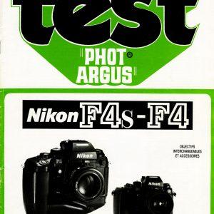 Nikon F4 et Nikon F4S