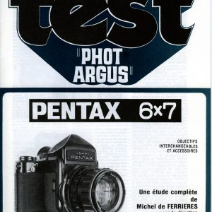 Dossier Asahi PENTAX 6x7