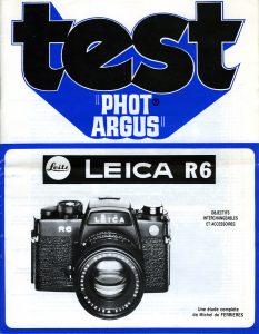 Manuel LEICA R6