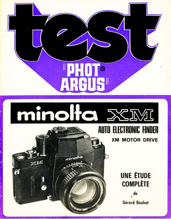 Dossier MINOLTA XM
