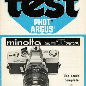 Manuel MINOLTA SRT303