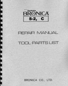 Bronica Zenza S2 S2a C