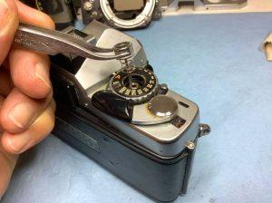 Démontage d'un Minolta XG-1